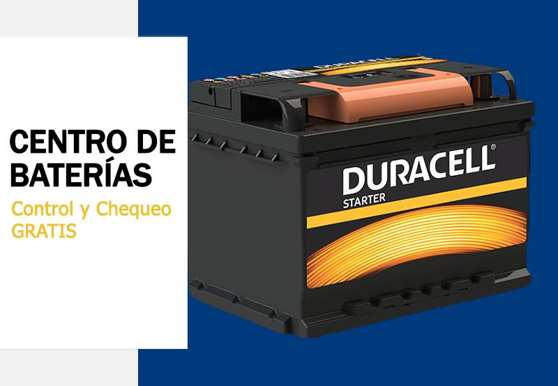 Bateria Duracell Auto