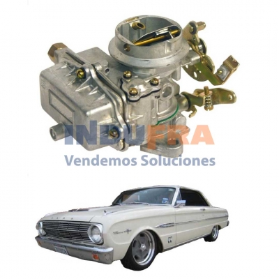 CARBURADOR FORD FALCON 188 HOLLEY BASE HIERRO HERX7023