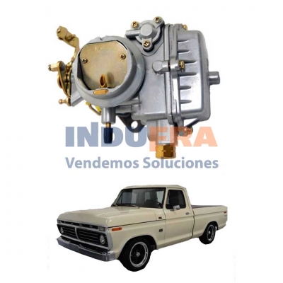 CARBURADOR FORD F-100 221 HOLLEY BASE HIERRO HERX1055