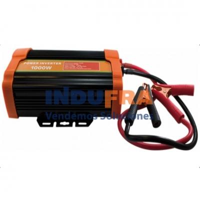 CONVERSOR CORRIENTE DE 12V A 220V 1000 WATS + USB