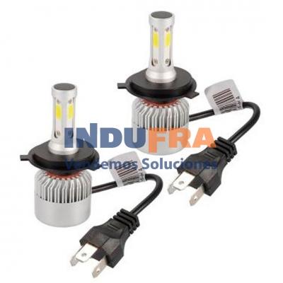 LAMPARA CREE LED H4 12V C/COLER 16000LM S6