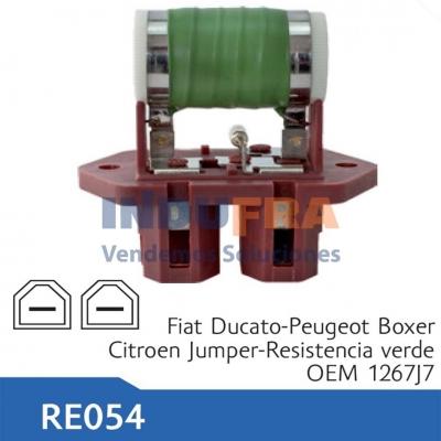 RESISTENCIA ELECTRO FIAT DUCATO PEUGEOT BOXER