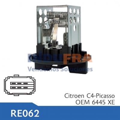RESISTENCIA ELECTRO CITROEN C4 C3