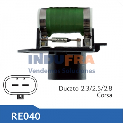 RESISTENCIA ELECTRO FIAT DUCATO 2.3 2.5 2.8