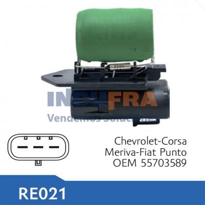 RESISTENCIA ELECTRO CHEVROLET CORSA MERIVA