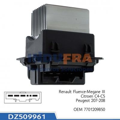 VARIADOR VELOCIDAD RENAULT MEGANE III CITROEN C4 DZ509961