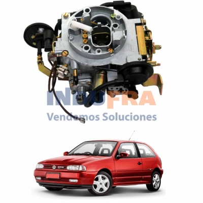 CARBURADOR FORD ESCORT VW GOL BROSOL 2E 28-30 HEBR2830