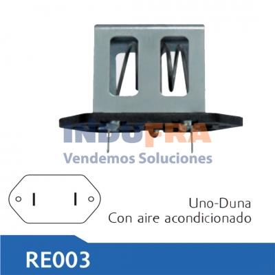 RESISTENCIA ELECTRO FIAT DUNA UNO C. AIRE ACONDICIONAD