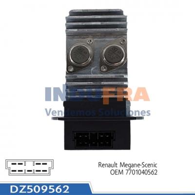 VARIADOR VELOCIDAD RENAULT MEGANE SCENIC DZ509562