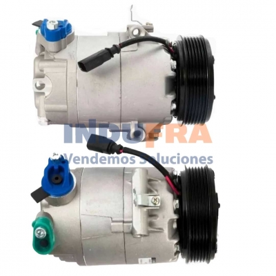 COMPRESOR AIRE ACONDICIONADO VW FOX CROSSFOX SURAN 03-13 437190-0350