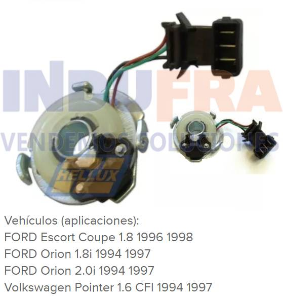 CAPTOR LINEA FORD ESCORT ORION VW POINTER INYECCION
