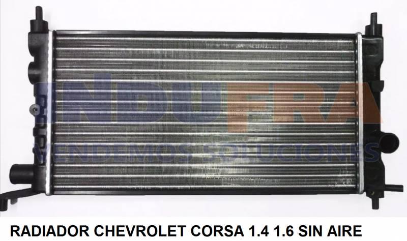 RADIADOR CHEVROLET CORSA MOTOR 1600 Y 1400