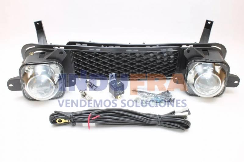 KIT FAROS ANTINIEBLA ORIGINAL VW GOL G3 COMPLETO CON REJILLA